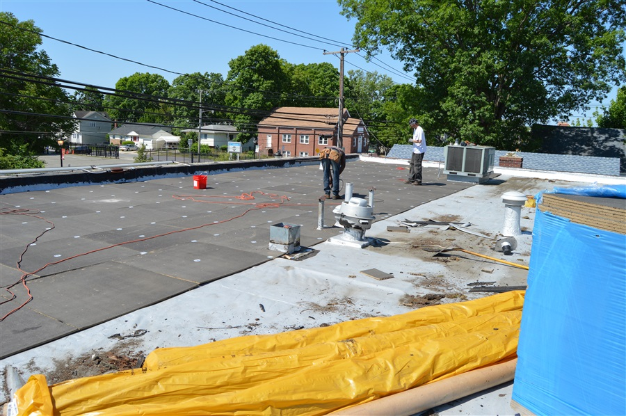 Cold Applied Roofing System Long Island